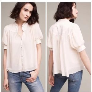 Anthropologie Moulinette Soeurs Colline Top 10